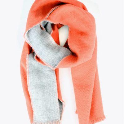 bufanda-bicolor-naranja-cenital
