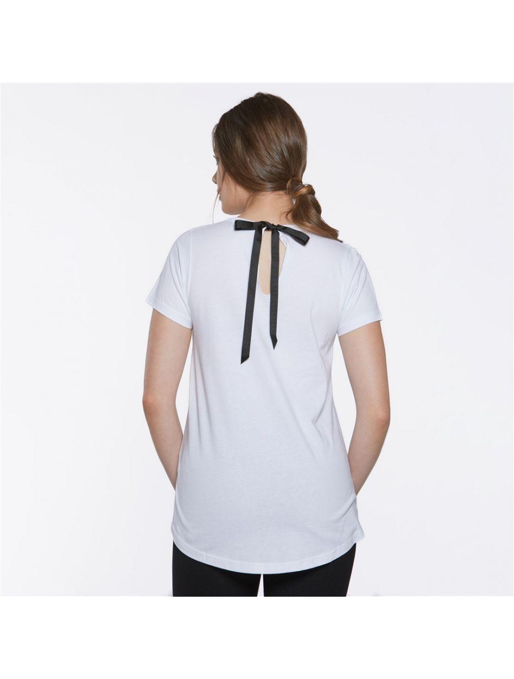 camiseta-blanca-lazo-negro