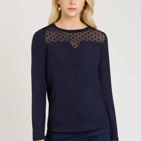 camiseta-combinada-transparencias-azul-marino-frontal