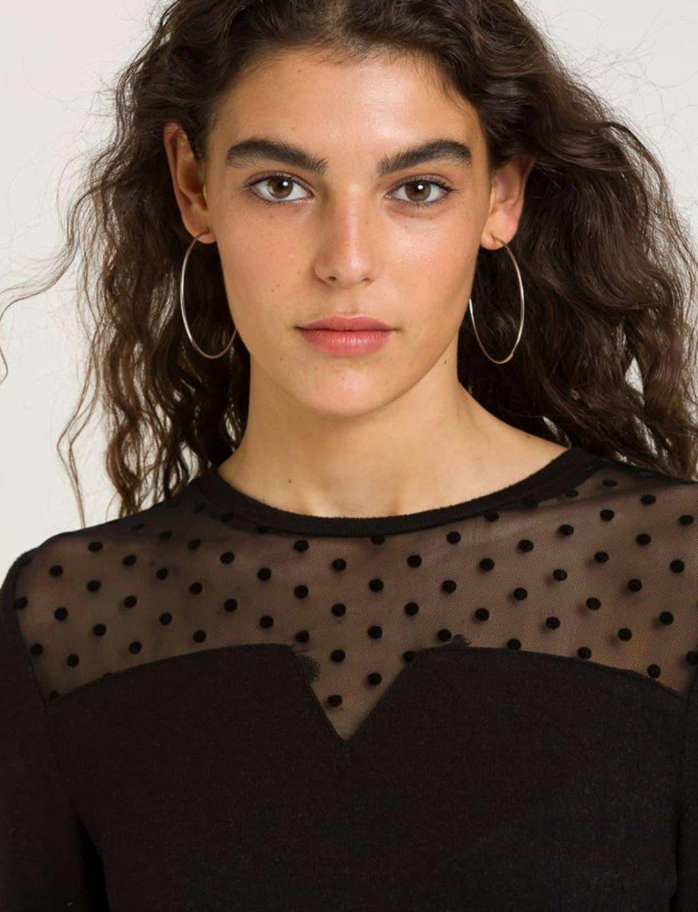 camiseta-combinada-transparencias-negra-detalle