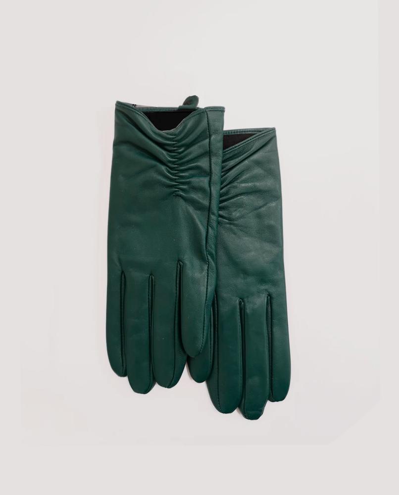 guantes-piel-verde